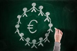 euro business concept