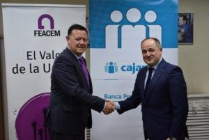 Convenio Cajamar y FEACEM