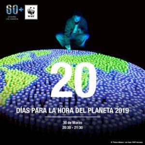 Cartel hora del planeta