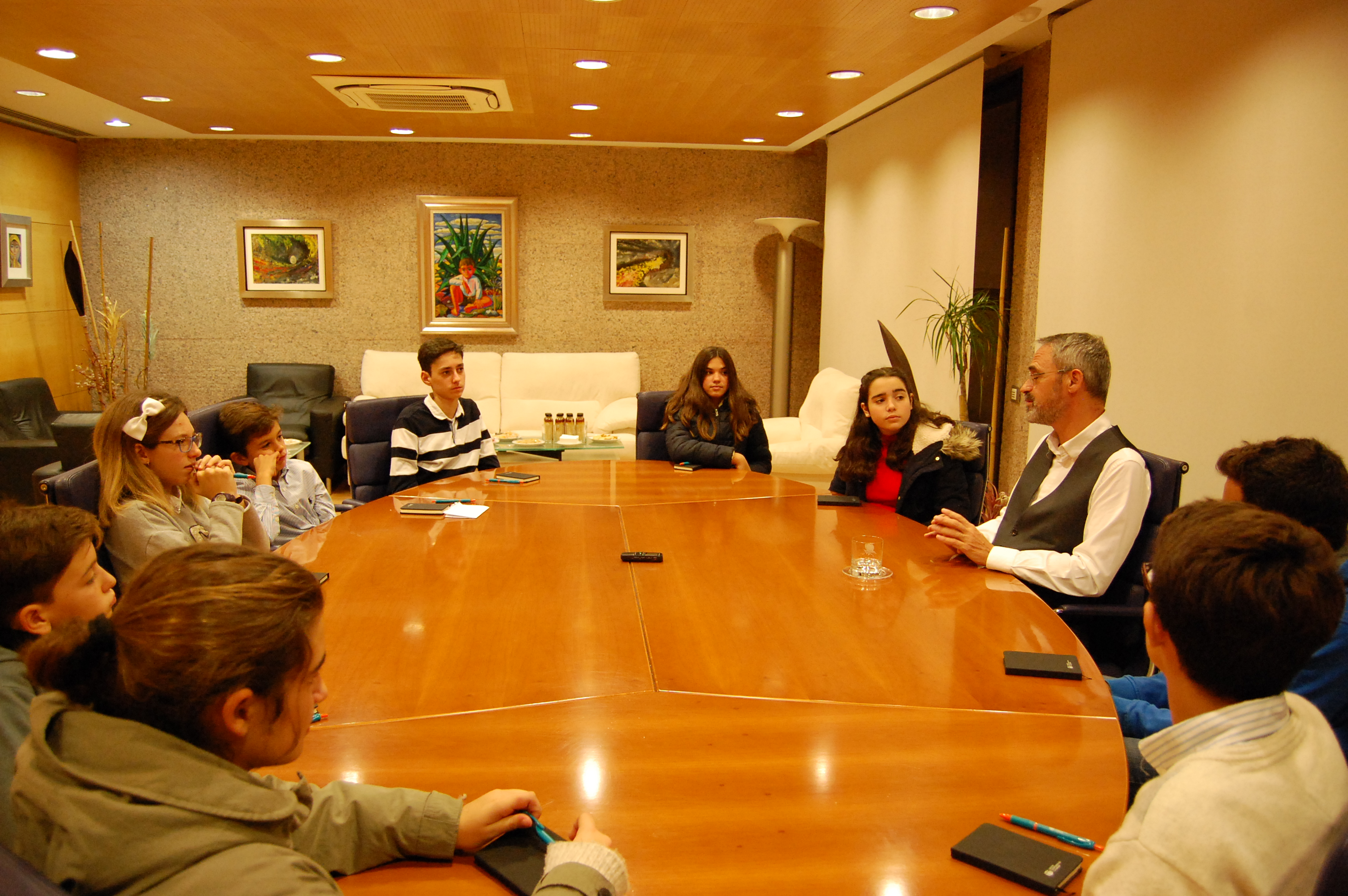 El consejero delegado de BCC-Grupo Cajamar Manuel Yebra, Inaugura la 5ª edición